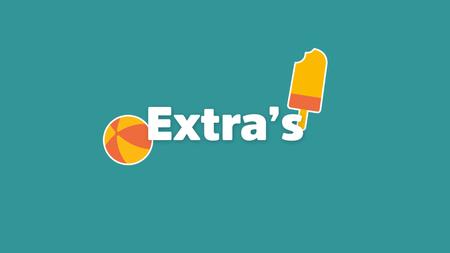 Afbeelding van Extra's